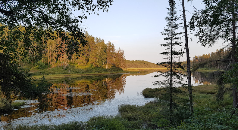 Esker Lake View from our site