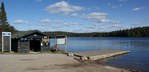 Cache Lake boat launch